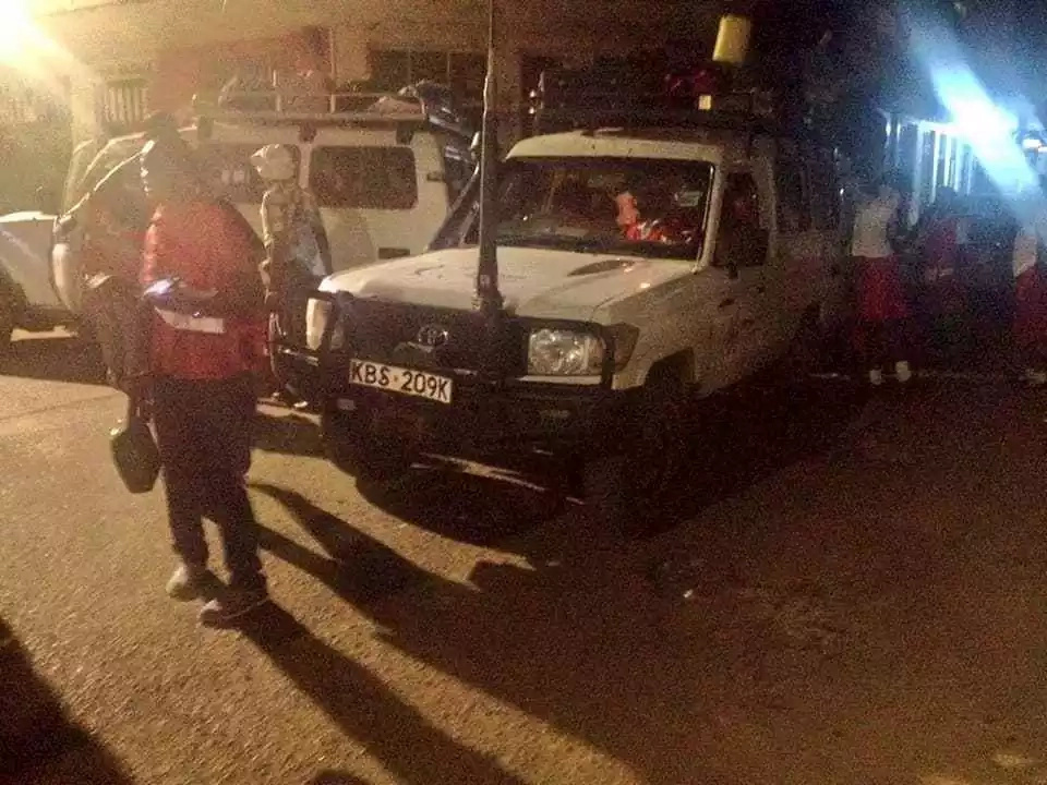 Red Cross forced to transport school girls stranded at Kisumu bus park at night as transport crisis escalates