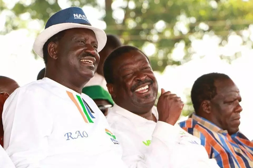 Raila Odinga still in the race- Orengo tells Uhuru