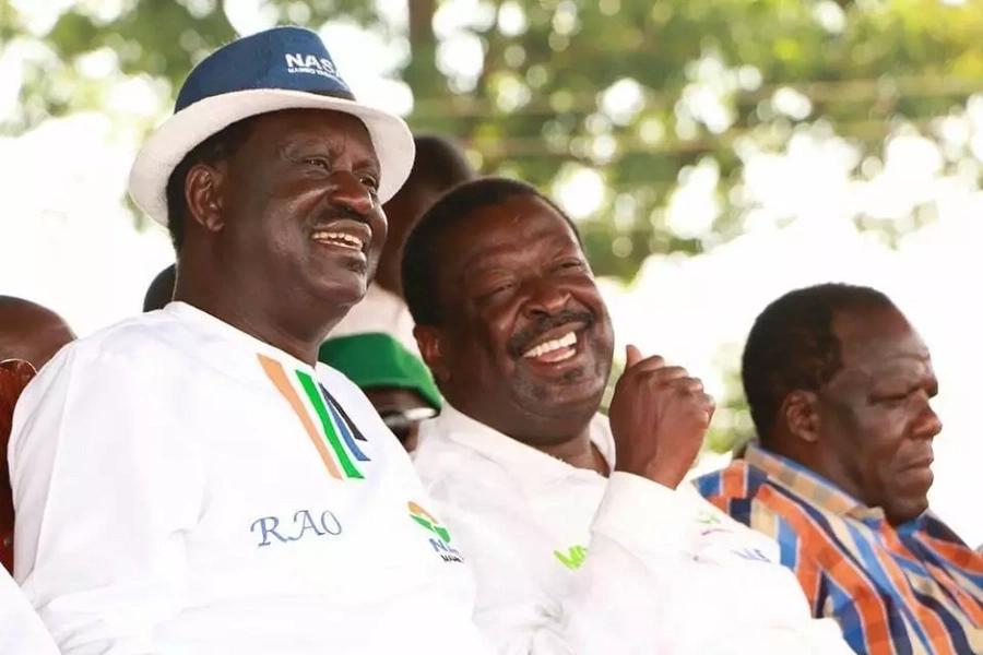 Raila Odinga still in the race - Orengo tells Uhuru