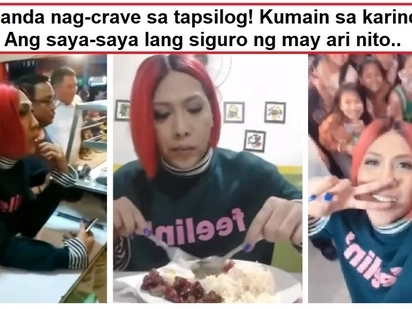 "Nagkagulo ang madlang people! Video of Vice Ganda eating in a ""karinderya"" went viral"