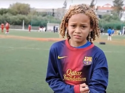 Photos: See 12-year-old wonderboy Xavi Simons Chelsea are running after