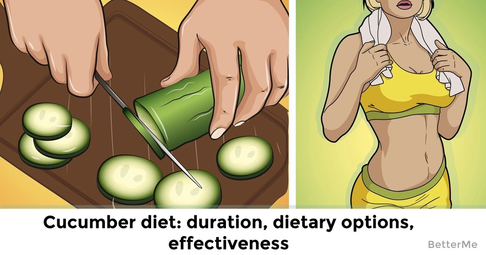 Cucumber diet: duration, dietary options, effectiveness