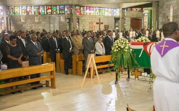 LIVE: Mama Lucy Kibaki requiem mass