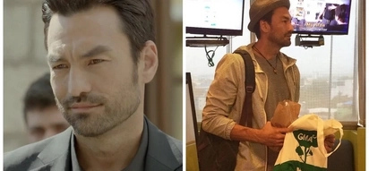 O my Captain! 'Descendants of the Sun' actor David Lee McInnis is here in the Philippines and fans are freaking out