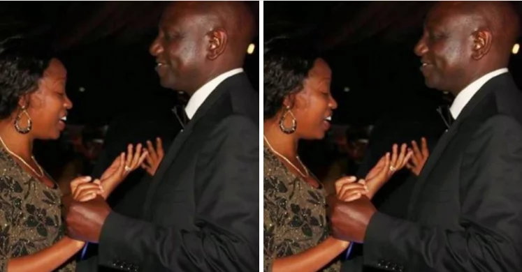 X eye-catching moments William Ruto's love to his wife was caught on camera