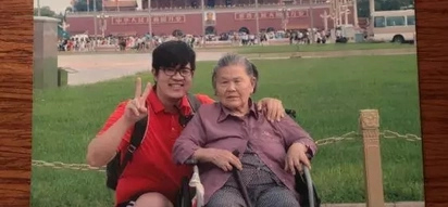 Grandson makes the dream of her wheelchair-bound grandma come true