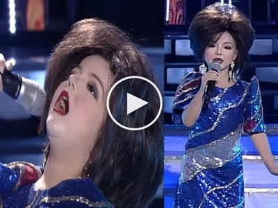 Xia Vigor blew up the stage as Pilita Corrales on 'Your Face Sounds Familiar'