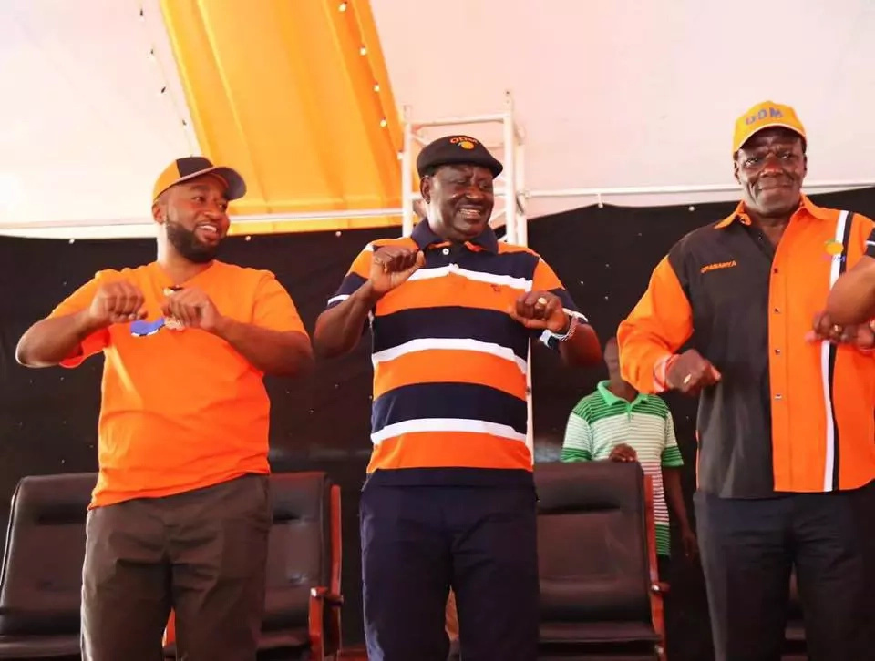Bonny Khalwale unveils his runningmate with a DARING warning