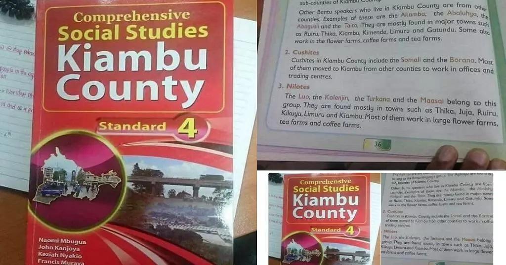 Kitabu cha Kaunti ya Kiambu kinachoyadhalilisha makabila fulani Kenya chawashtua wengi