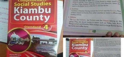 Kenyans in uproar against ethnically incorrect Kiambu county primary school textbook