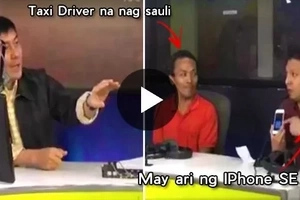 Must Watch!Tulfo enraged with a man who blames the taxi driver who returned his phone!