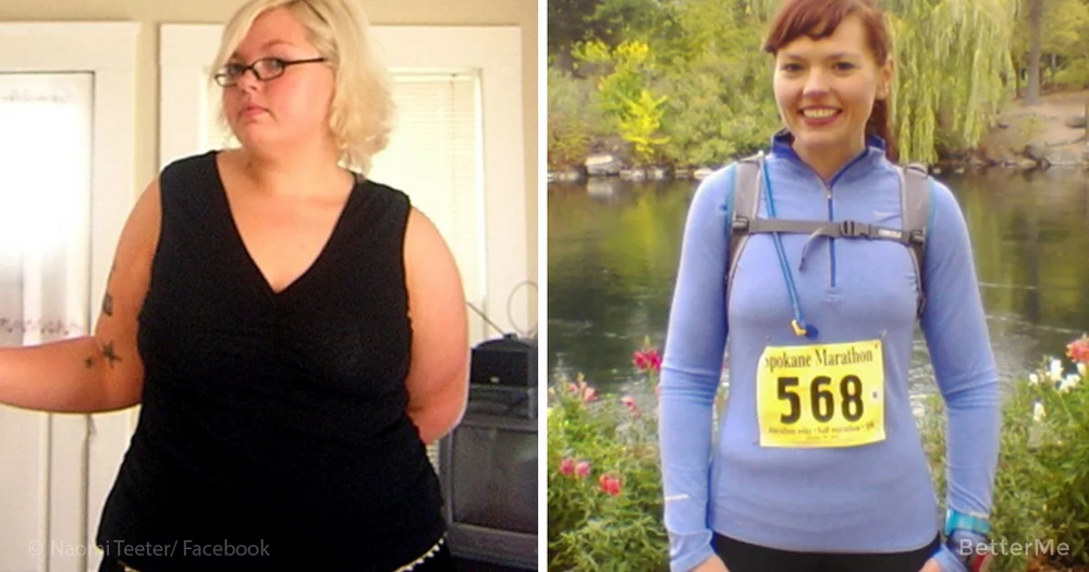 Naomi Teeter lost 150 pounds and turned into an athlete and here is her secret