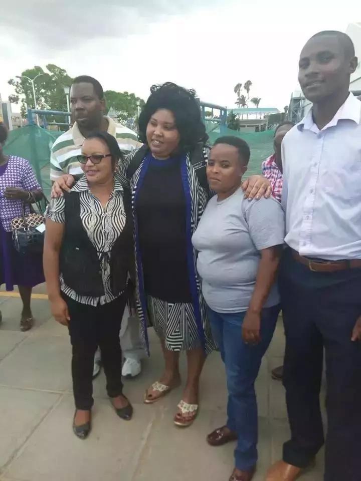 Unamkumbuka Gladys Kamande, aliyekuwa akitembea na mtungi wa hewa safi? Hutaamini macho yako(PICHA)