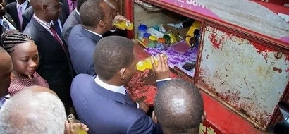 """""""Uhuru na Pombe ndani ya Ikulu""""; Wakenya wajadili kinywaji cha rais (picha)"""