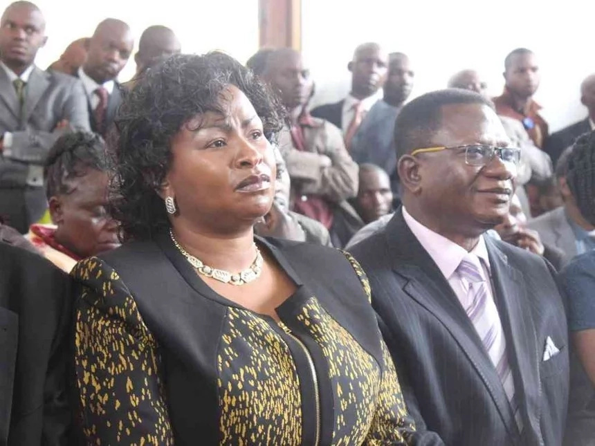 Four interesting facts about Wavinya's late husband
