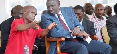 This short man stepped on Ruto's shoe and Kenyans roasted him like a piece of meat