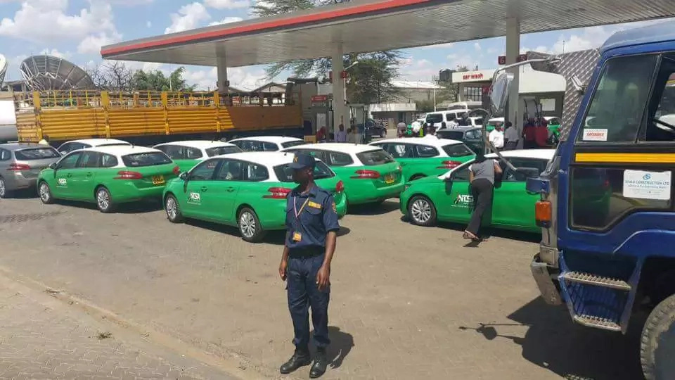 Photos of NTSA patrol cars cause panic