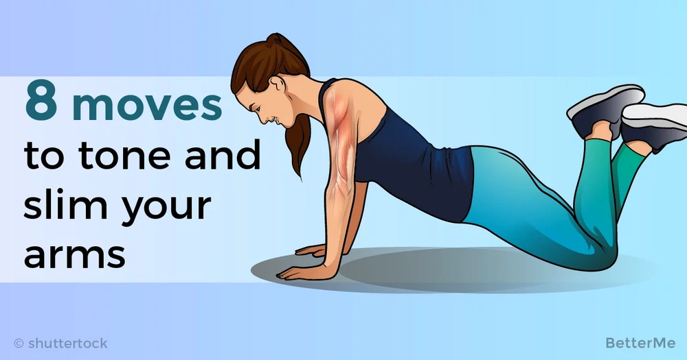 8 effective moves that can tone and slim your arms