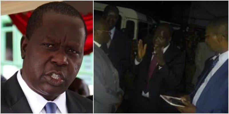 Matiangi is no joke, enters school while students are still asleep