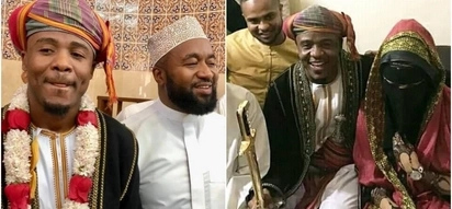 Hassan Joho shows up at Ali Kiba's wedding after weeks of missing in action