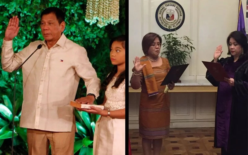 De Lima and Duterte's transformation over the years