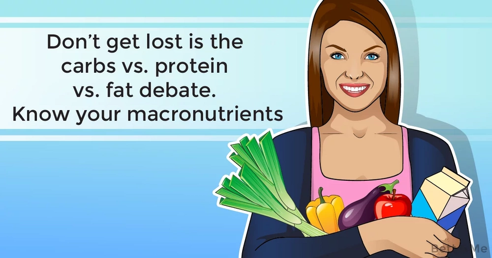Don't get lost is the carbs vs. protein vs. fat debate. Know your macronutrients!