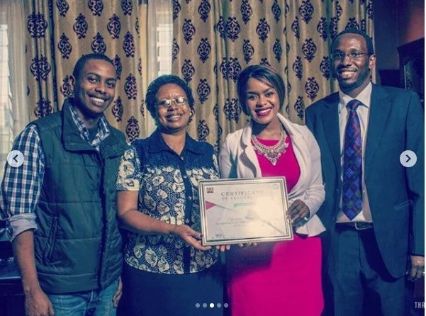 Nakuru County honors sultry musicician Avril for her outstanding contribution to the music industry