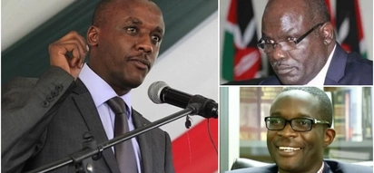 Mutula Kilonzo Junior reads riot act to IEBC chairman over Ezra Chiloba's compulsory leave