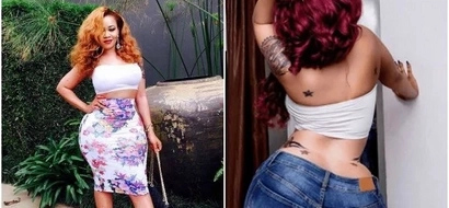 Curvy socialite Vera Sidika goes back to her old ways, shares raunchy photos and Kenyan men cannot deal