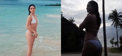 Coleen Garcia shows off her beach body in Balesin