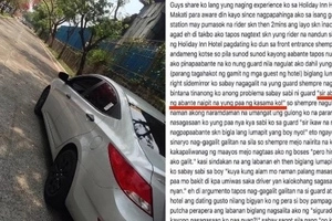 This Uber driver just figured out a new modus in Makati while picking up his rider