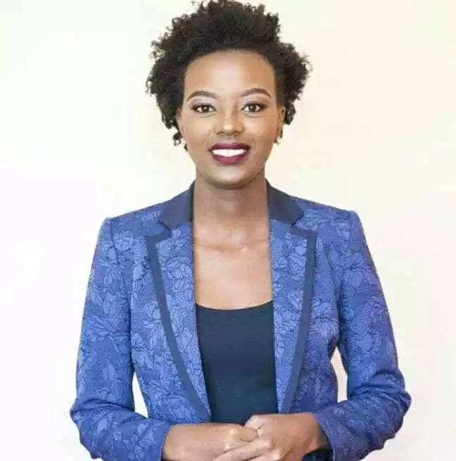 Samantha Maina is running for MCA for Kileleshwa Ward. Photo: Samantha Maina