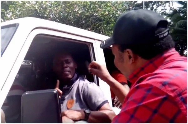 Kabogo meets Waititu face to face and the result is explosive (Video)
