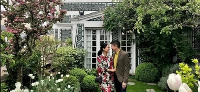 So posh! Heart Evangelista and husband now in Paris as part of their Europe vacay