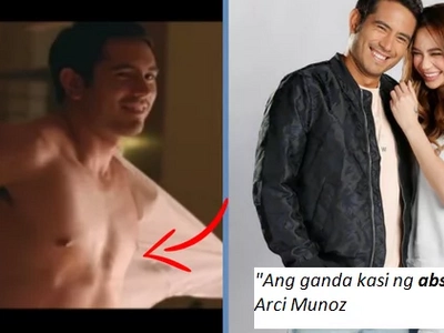 Nahulog Sa Abs Ni Gerald Anderson: Arci Muonz Says She's Taking Advantage Of Him.