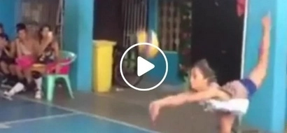 Best libero spotted! Funny Pinoy plays volleyball with the most incredible 'twist'