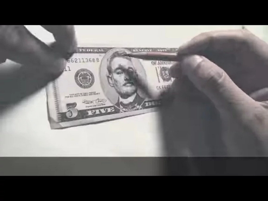 Five Dollar Bill Murray Is Worth More Than Your Average Abraham (Video)