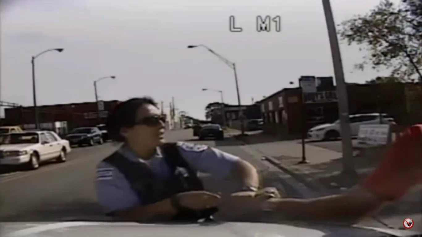 Man On High Drugs Beats Female Police Officer!