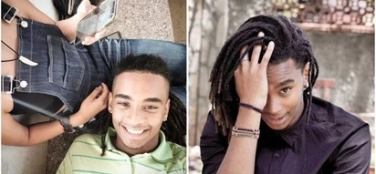 Kibaki's hot grandson Sean Andrew turns mafisilets green with envy as he shares compromising photo with unknown lady