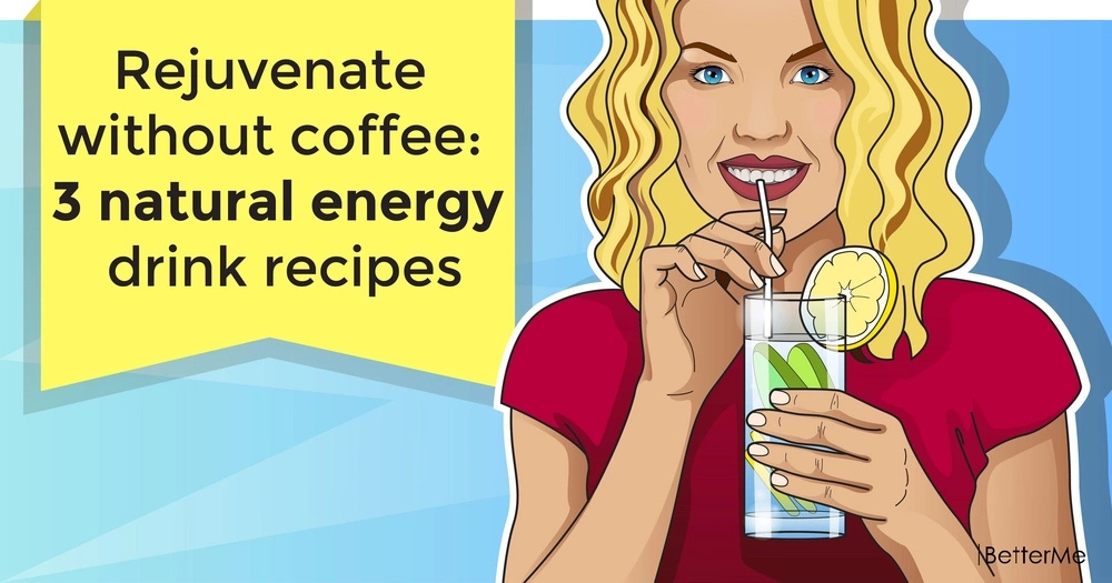 Rejuvenate without coffee: 3 natural energy drink recipes