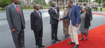 Photos: Uhuru leaves the country for another visit to Europe