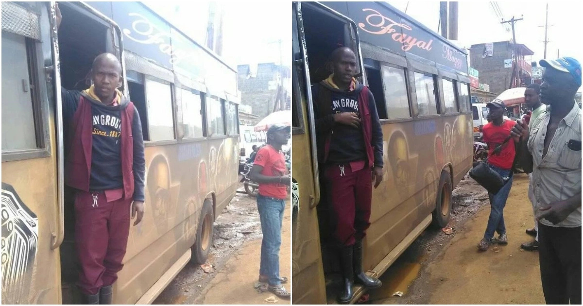 Bus conductor returns money to passenger who misplaced wallet