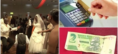 No cash? No problem! Zimbabwe weddings hire card machines for guests to SWIPE their gifts