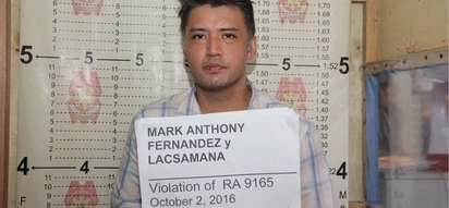 Walang kawala! Controversial Mark Anthony Fernandez face non-bailable charges for drug possession