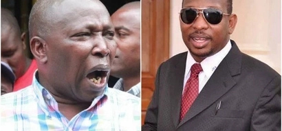 Chaos at Jubilee meeting attended by Sonko and Kamanda (photos)