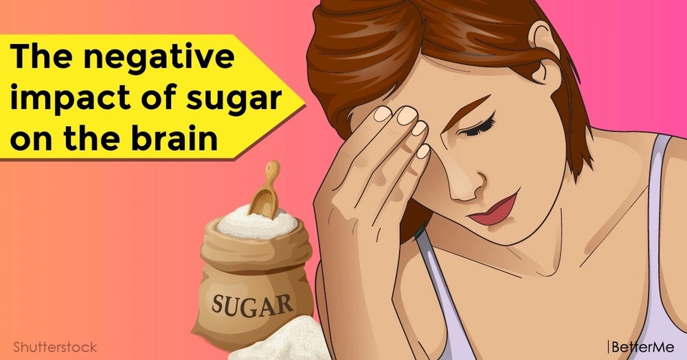 The negative impact of sugar on the brain