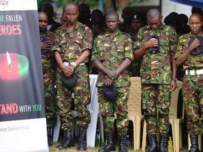 Kilio na majonzi: KAPTENI mchanga wa KDF aliyeuawa katika shambulizi la Kulbiyow azikwa!
