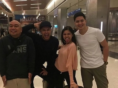 Calling Aldub Fans! Check out the photos of aldub upon arrival in US