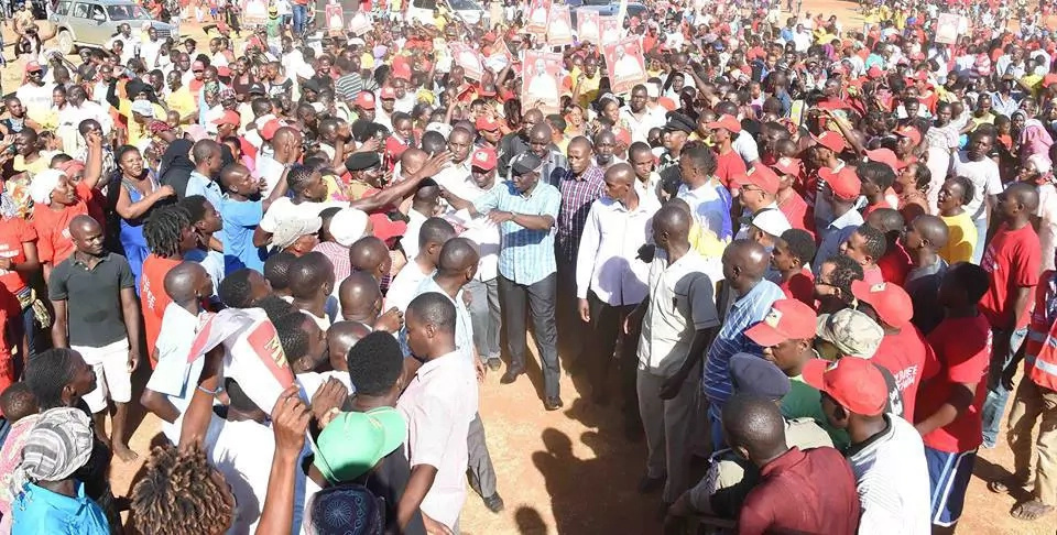What Ruto said about Raila in Malindi