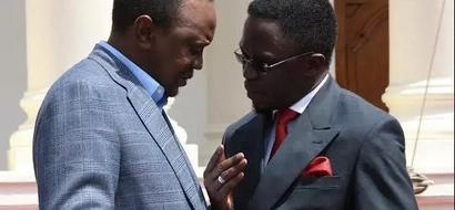 Where was Ababu Namwamba when Raila visited his county?